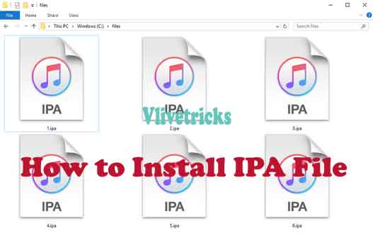install ipa file without jailbreak ios 7
