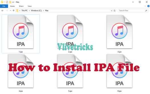 install-ipa-file
