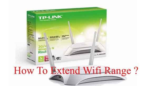 extend wifi range