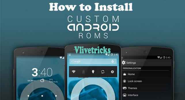 install-android-custom-rom