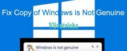 Best Ways to Fix This Copy of Windows is Not Genuine Warning