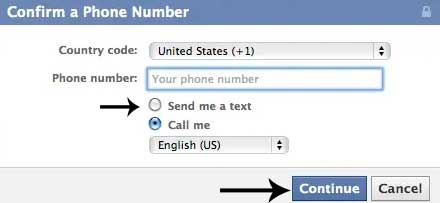 facebook-verify-number