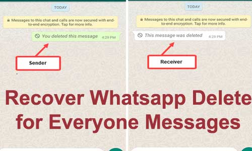recover whatsapp delete for everyone messages