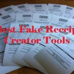 Best Fake Receipt Creator Tools 2019 for Gas, Hotel, Atm Etc