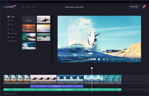 clipchamp online video-editor
