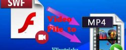 Convert SWF Video File to MP4 Free