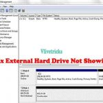 Methods to Fix External Hard Drive Not Showing in Windows