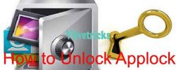 (Hacks) How to Unlock Applock Locked Apps Content (No Uninstall)