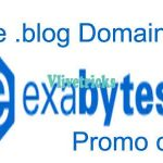 Exabytes -Get Free .Blog Domain Promo Code With DNS