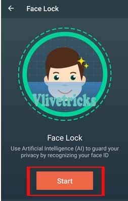 face-lock-start