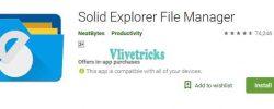 Solid Explorer Unlock Premium Version Almost Free (No Crack)