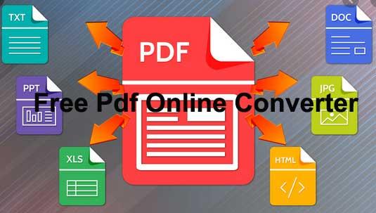 free pdf converter online
