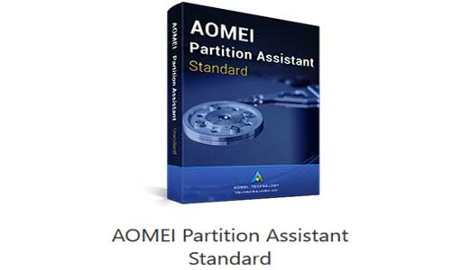 manage hard drive free via aomei-partition-assistant