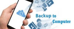 backup your android phone to pc