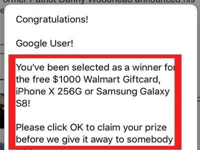scam virus popups
