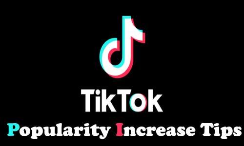 tiktok increase followers