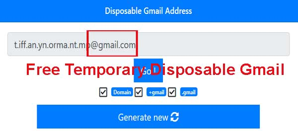 disposable temporary-gmail-email