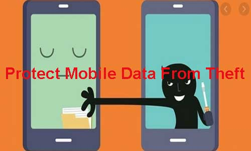 protect smartphone data from theft