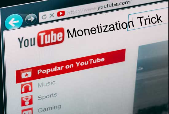 fast monetization on youtube