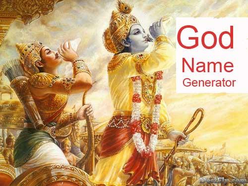 god names list