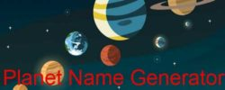 real planet name ideas