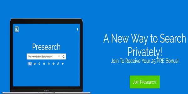 presearch search engine